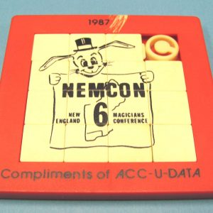 NEMCON Sliding Blocks Puzzle 1987