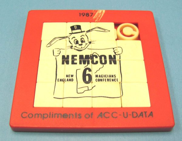 NEMCON Sliding Blocks Puzzle 1987