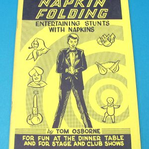 Napkin Folding (Tom Osborne)