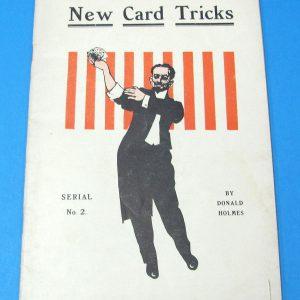New Card Tricks - Serial No. 2 (Donald Holmes)