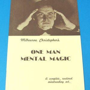 One Man Mental Magic