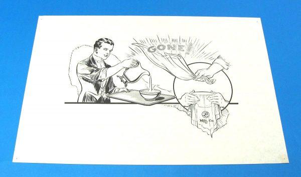P&L Window Card Vanishing Bowl of Water