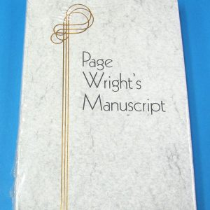 Page Wright's Manuscript