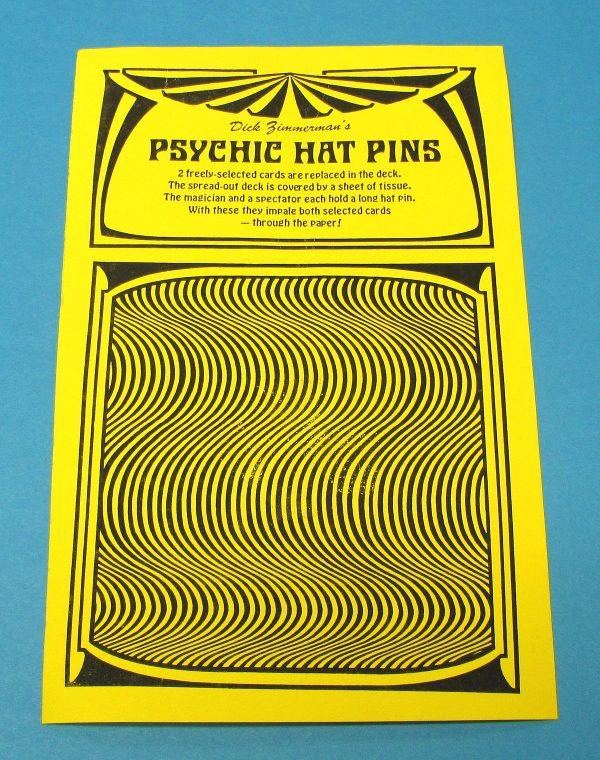 Psychic Hat Pins