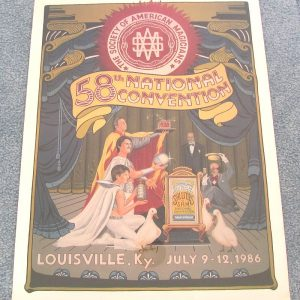 SAM 58th National Convention Poster