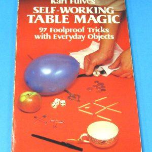 Self-Working Table Magic