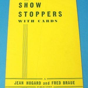 Show Stoppers With Cards (Hugard and Braue)
