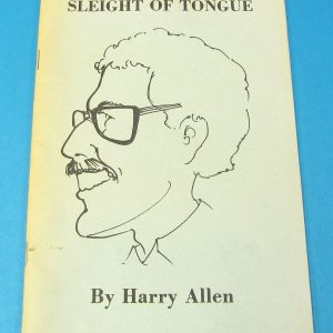Sleight of Tongue (Pre-Owned)