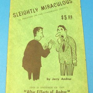 Sleightly Miraculous (Jerry Andrus)