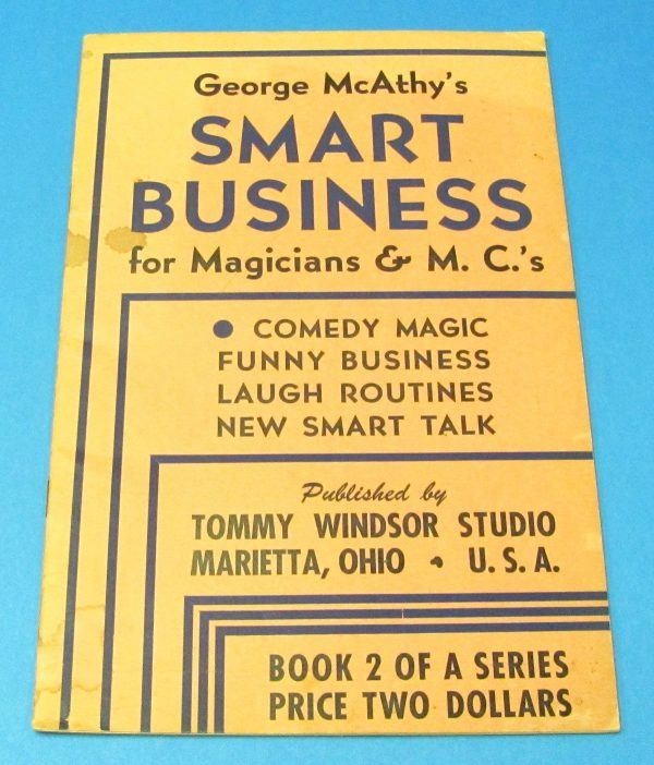Smart Business For Magicians and MC's