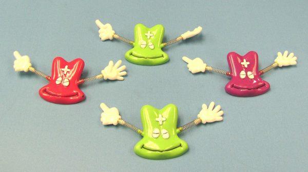 Smile Guy Pins (Set of 4)