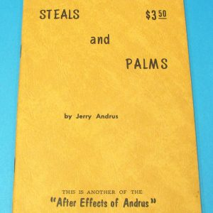 Steals and Palms (Jerry Andrus)