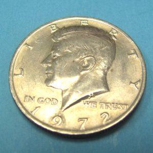 Steel Core Half Dollar 1972
