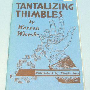 Tantalizing Thimbles