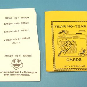 Tear No-Tear Cards (RRRipit)