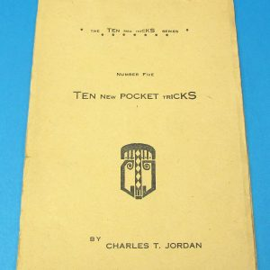 Ten New Pocket Tricks (Jordan)
