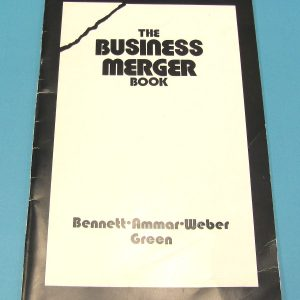 The Business Merger Book