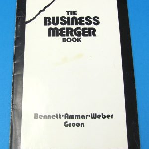 The Business Merger Book (Pre-Owned)