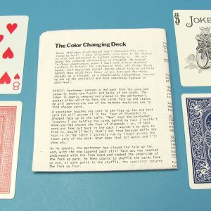 The Color Changing Deck (Paul Curry)