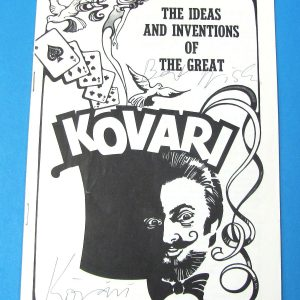 The Ideas and Inventions of the Great Kovari Lecture Notes - Signed