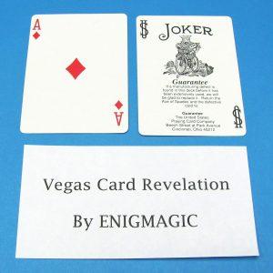 Vegas Card Revelation
