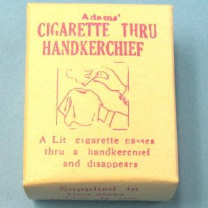 Vintage Adams' Cigarette Thru Handkerchief (Small) in Box