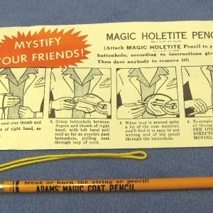 Vintage Adams' Holetite Pencil (Orange)