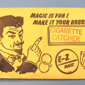 Vintage E-Z Magic Cigarette Catcher in Envelope