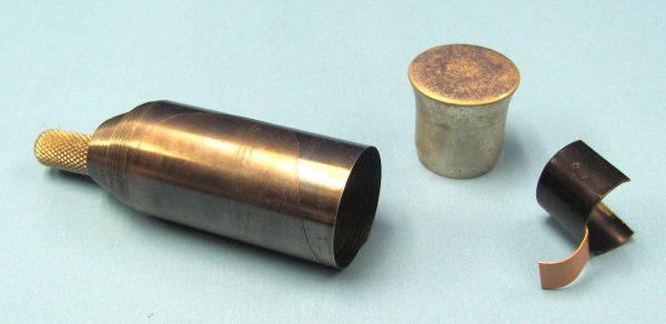 Vintage Metal Vanihing Cane With Suspension Gimmick