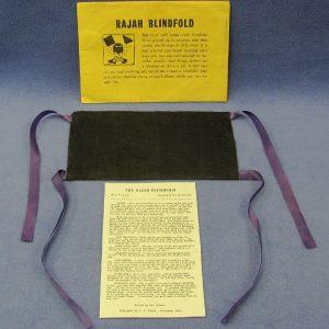 Vintage Rajah Blindfold - U. F. Grant