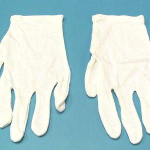 White Minstrel Gloves
