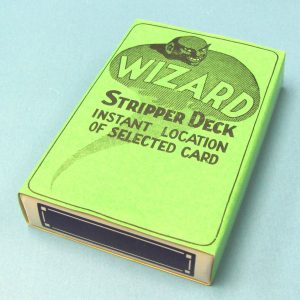 Wizard Stripper Deck - Blue Backs (FL)