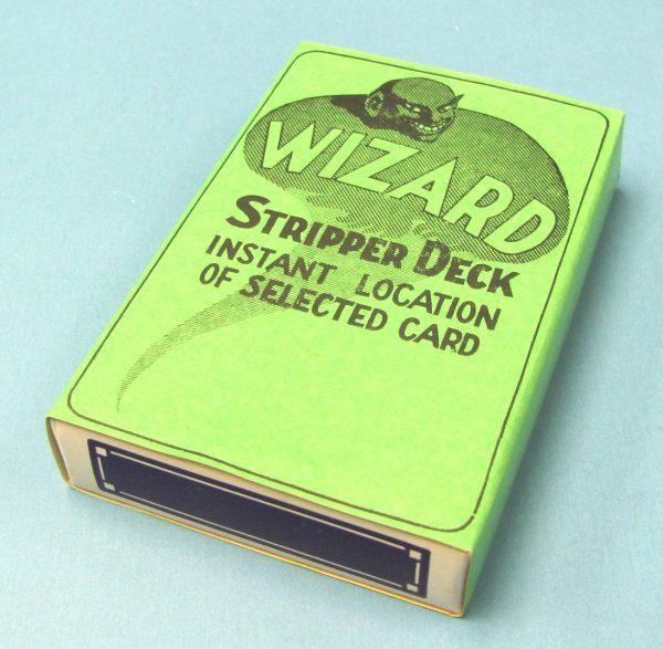 Wizard Stripper Deck - Blue Backs (FL)