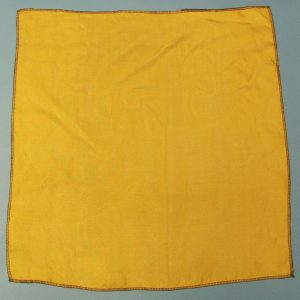 Yellow Orange Silk