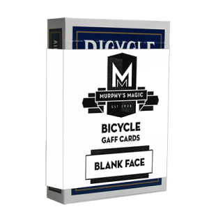 Blank Face Cards - Blue Backs - Bicycle