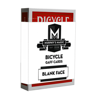 Blank Face Cards - Red Backs - Bicycle