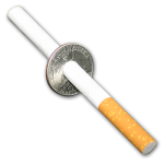 Cigarette Through Quarter - Johnson
