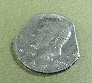 Eraser Coin Half Dollar - David Roth