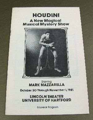 Houdini Mark Mazzarella