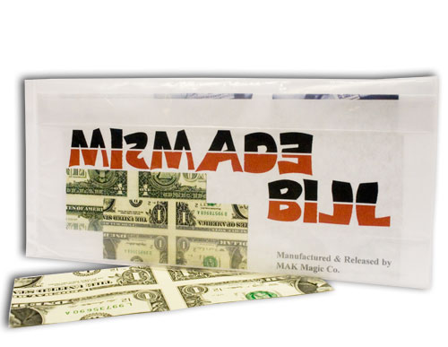 Mis-Made Dollar Bill