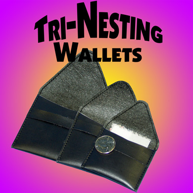 Tri-Nesting Wallets