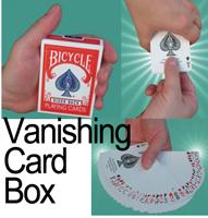 Vanishing Card Box
