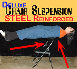 chair suspension deluxe steel
