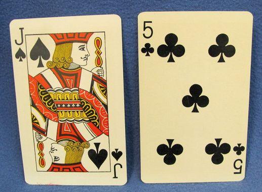 Berlands Amazing Jumbo Card Transposition JS 5C