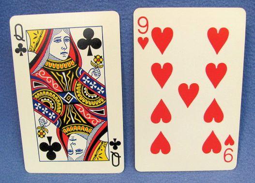 erlands Amazing Jumbo Card Transposition QC 9H