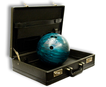 Bowling Ball From Briefcase