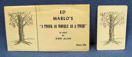Ed Marlo A Twick As Wovely As A Twee