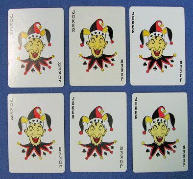 Jokerama Multi-Color Jokers