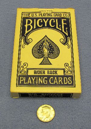 Jumbo Bicycle Deck - Blue - Pre-Owned