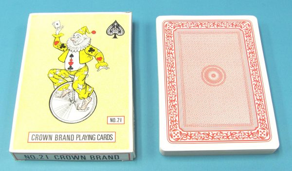 Jumbo Crown Brand Playing Cards #21